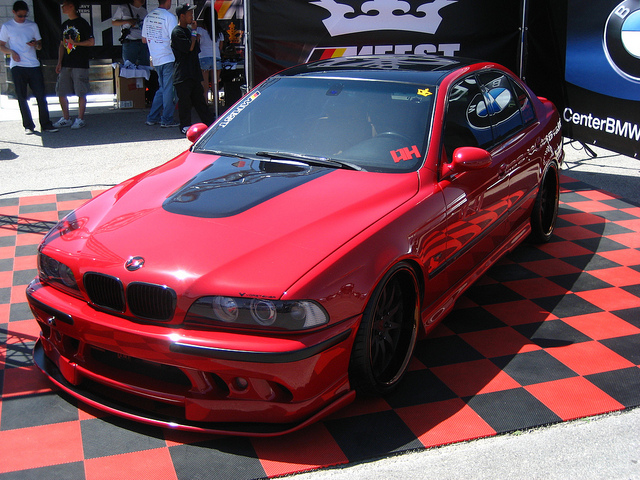 RED E39 M5 AT MFEST