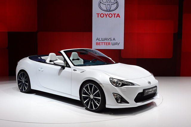Toyota at the Geneva Motor Show 2013