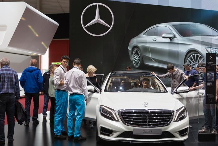 Geneva Motor Show: Mercedes Benz