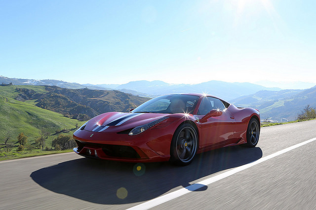 2015 Ferrari 458 Wallpaper Cars