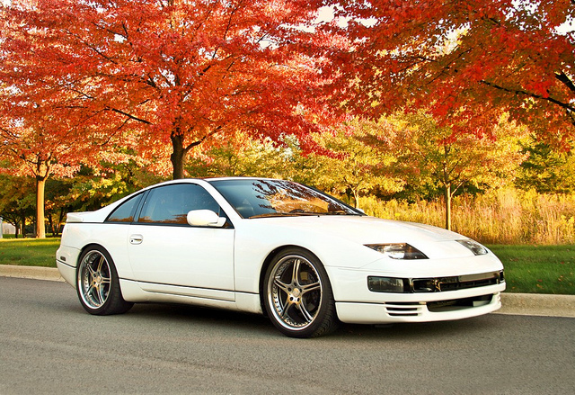 The 25 Best Japanese Sports Cars Ever Made. 300ZX Twin Turbo In The Fall