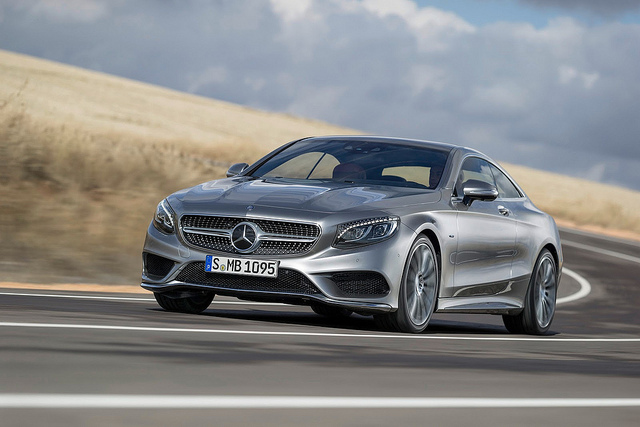 MERCEDES BENZ S CLASS COUPE 2015