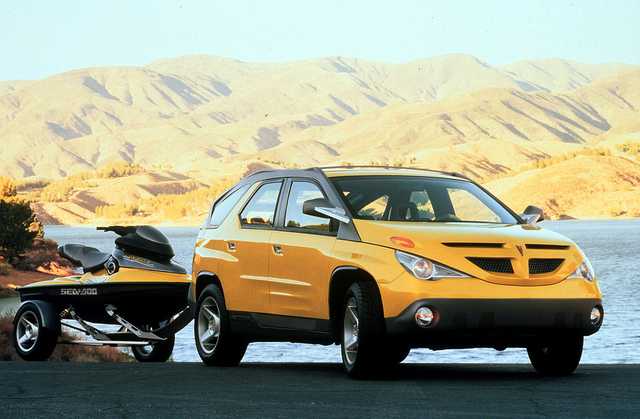 1999 Pontiac Aztek Concept Vehicle