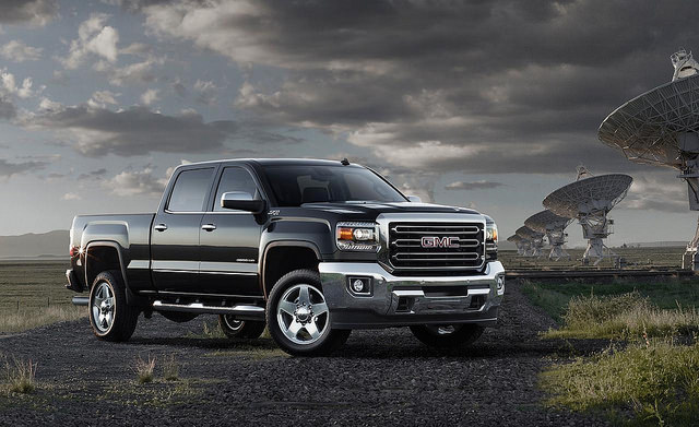 2015 GMC Sierra 2500HD Wallpapers