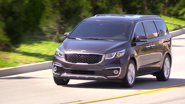 2015 Kia Sedona High Quality 4K Wallpaper