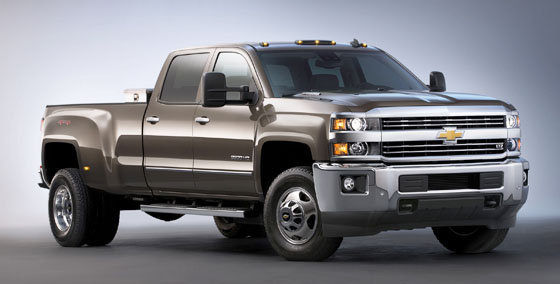2016 Chevy 2500HD Duramax Changes