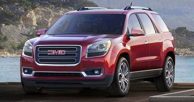 2016 GMC Acadia Redesign and Specs