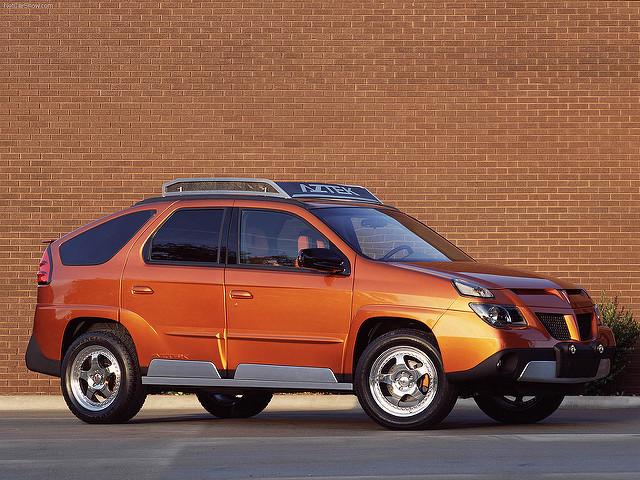 Pontiac Aztek SRV 2001 1600 X1200 Wallpaper 01 [1 ]