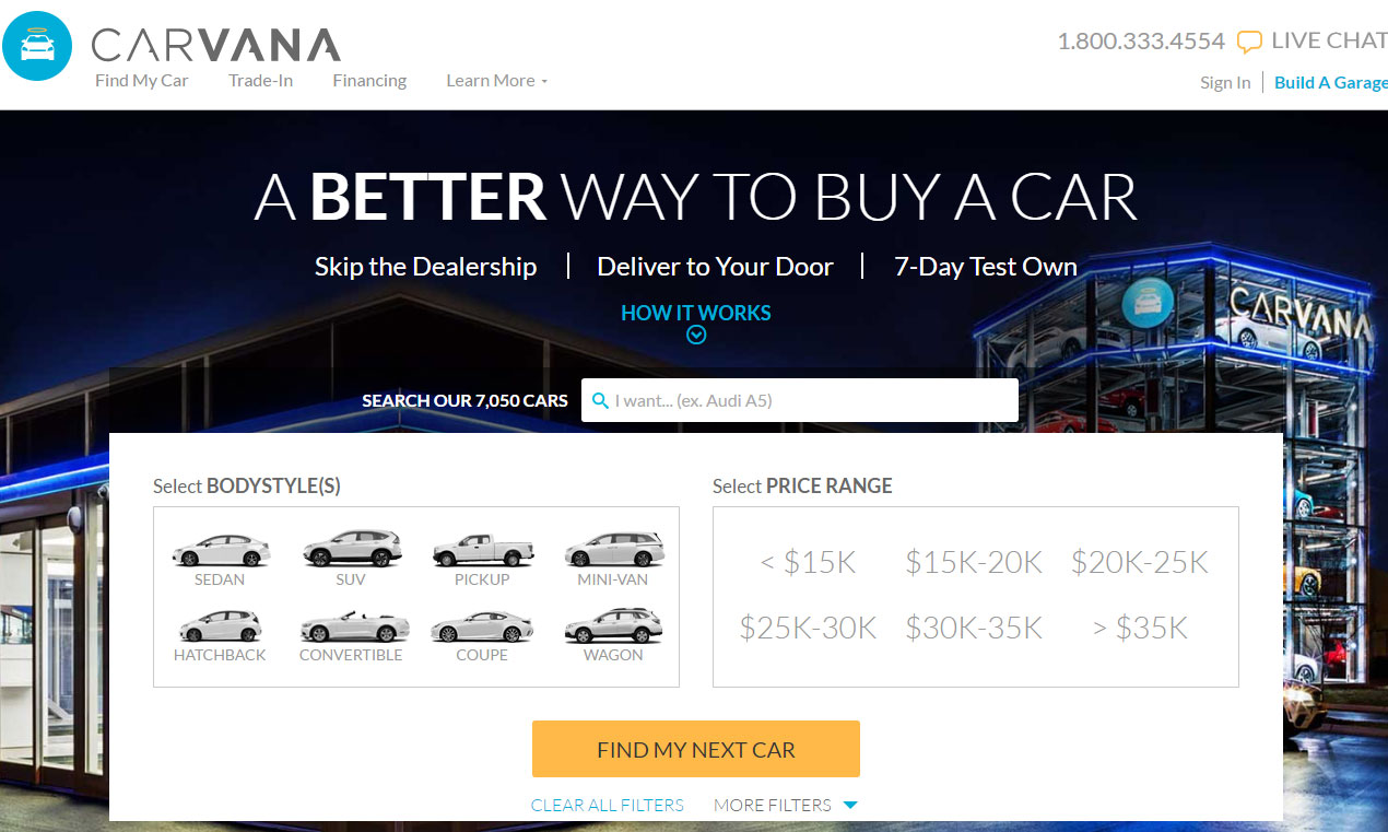 20 places to buy cars online cheap page 5 of 20 carophile. Black Bedroom Furniture Sets. Home Design Ideas