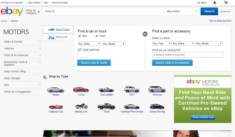 Places To Buy Car From Private Seller